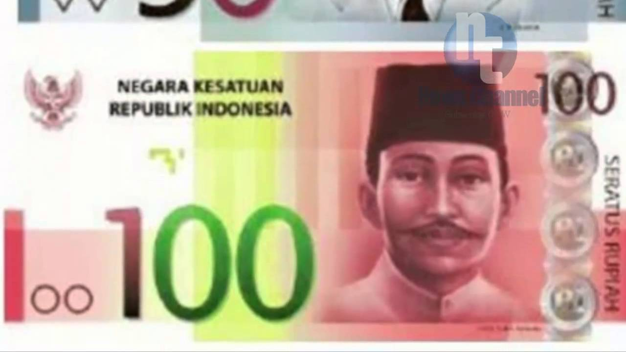 100 Gambar Uang Indonesia Baru Kekinian