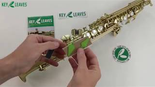 How to use Key Leaves Soprano Saxophone Care Product