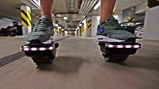 Rolki elektryczne Koowheel #HoverShoes