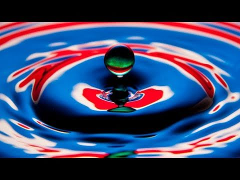 How to photograph a Water Droplet without Flash - YouTube