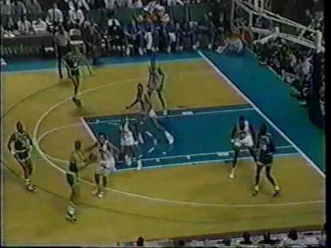 Boston Celtics @ Charlotte Hornets 1989