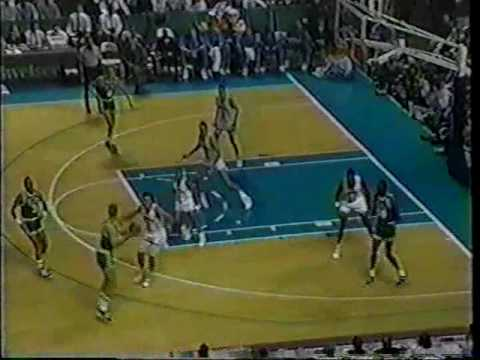 Boston Celtics @ Charlotte Hornets 1989