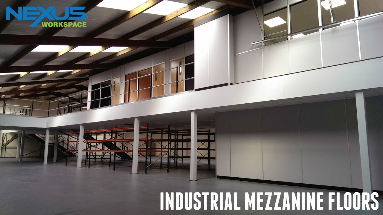 Mezzanine Floors Services : Industrial mezzanine floors youtube
