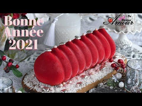 buche-du-nouvel-an-aux-framboises-et-chocolat-blanc-au-spray-velours