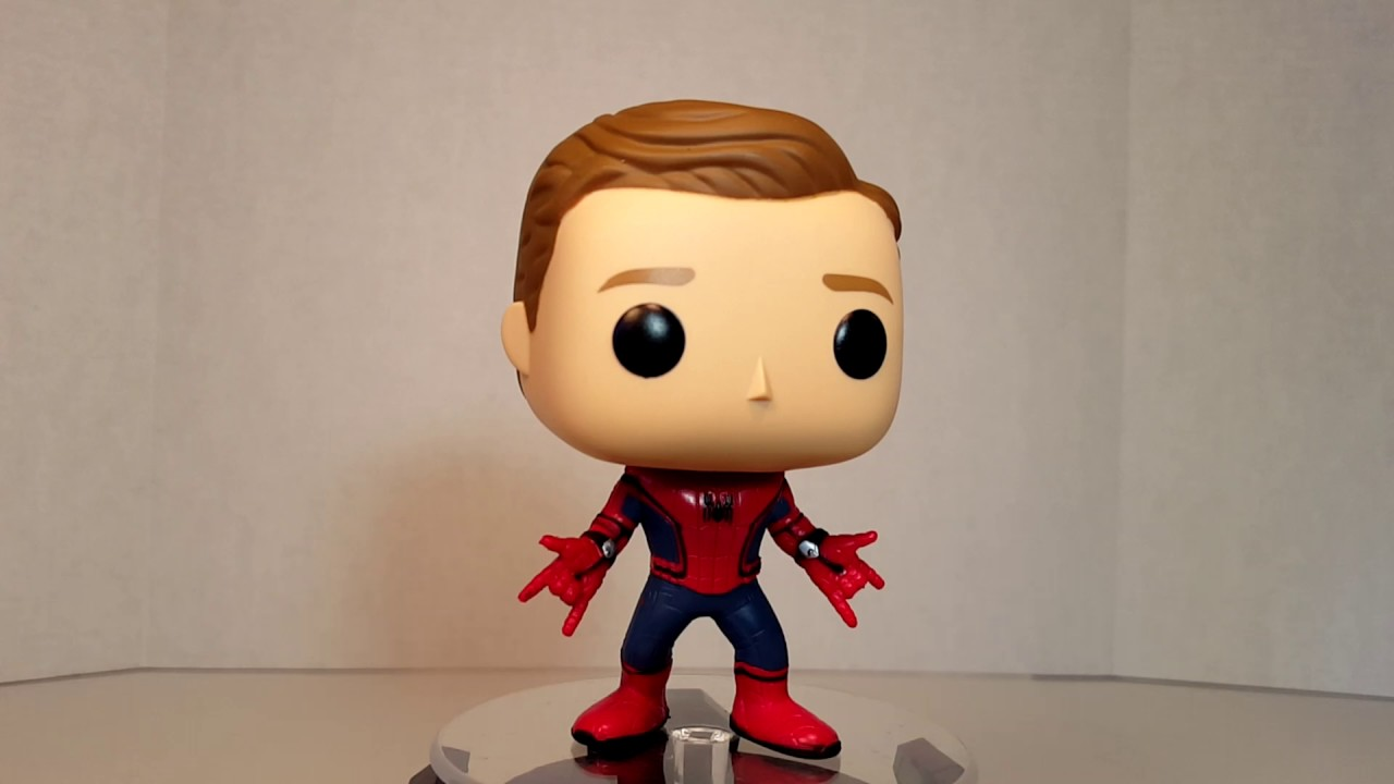 POP UNMASKED SPIDERMAN SPIDERMAN