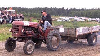 Rantasalmi traktorit kuormien vedossa 2016
