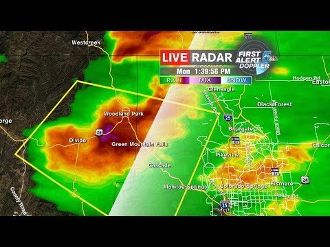 Severe Weather in Southern Colorado