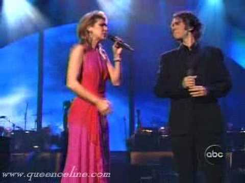 Celine dion and josh groban