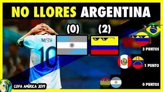 COLOMBIA VS ARGENTINA (2-0) - COPA AMERICA 2019