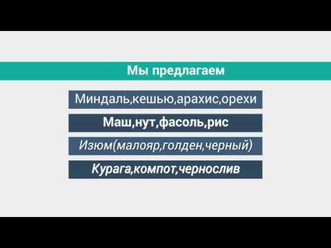 Орехи и сухофрукты оптом - YouTube