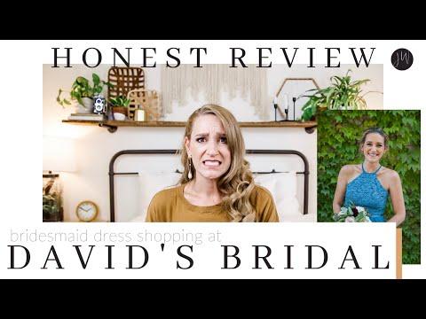HONEST REVIEW: Shopping At David's Bridal