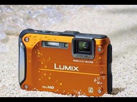 Testing Panasonic Lumix DMC-FT4 under water - YouTube