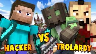 ¿PUEDO GANAR EN EL SERVIDOR DE LOS HACKERS? (Minecraft Eggwars)