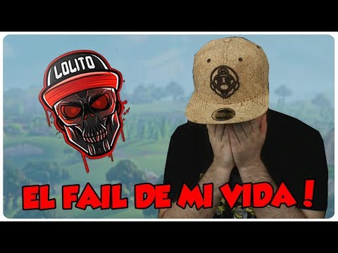 💀 ¡EL MAYOR FAIL DE MI VIDA! 💀 ~ FORTNITE