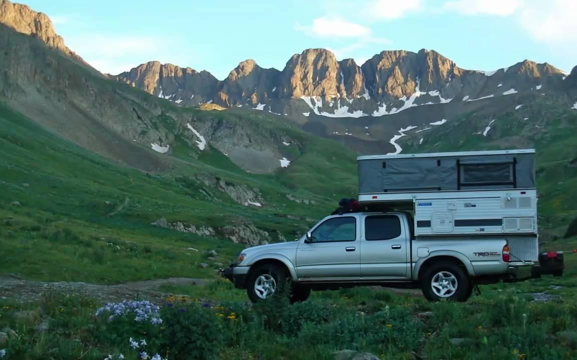 Our Four Wheel Camper Treks 2007 Youtube