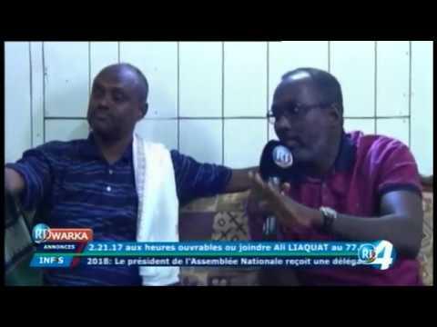 Télé Djibouti Chaine Youtube : JT Somali du 31/10/2017