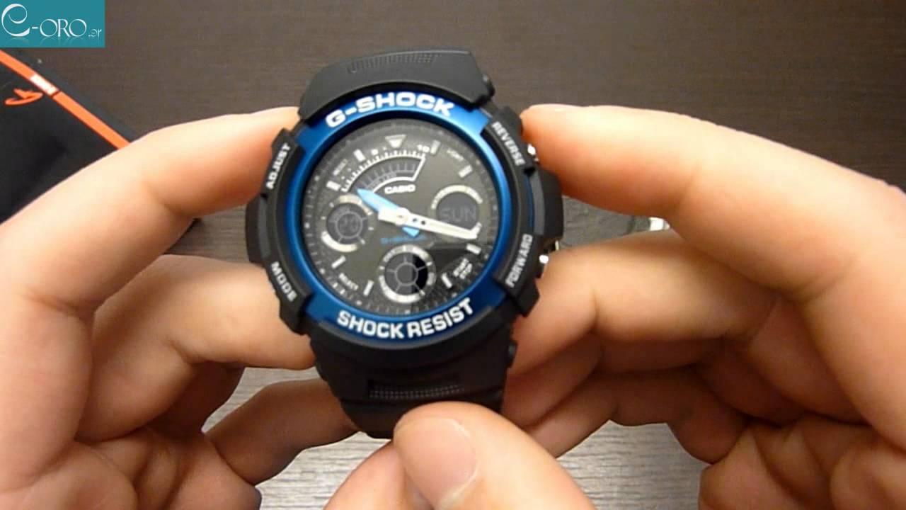871cbc9bcc4e Casio G-Shock AW-591-2A