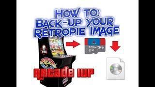 Arcade 1UP Retropie Mod How To Backup Your Raspberry Pi Images