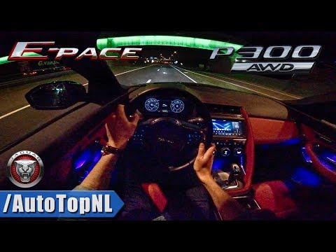 Jaguar E Pace P300 R Dynamic NIGHT DRIVE POV by AutoTopNL