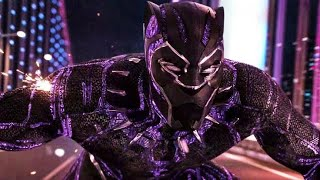 Black Panther Tamil | Black Panther Car Chace Scene Tamil | Black Panther (2018)