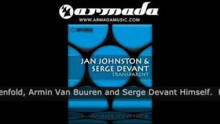Jan Johnston & Serge Devant - Transparent (Outback Remix) (CVSA016)