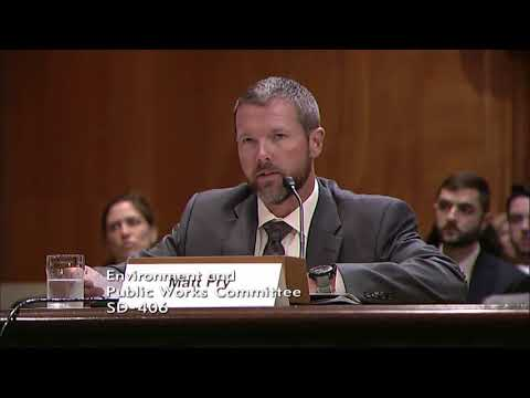 Senate Hears from Wyoming's Matt Fry on Carbon Capture, Utilization, and Sequestration