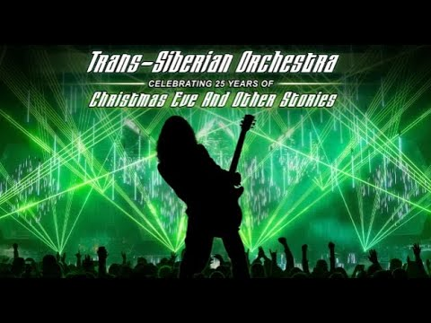 TRANS-SIBERIAN ORCHESTRA (TSO) massive 2021 N.A. Tour announced ...!