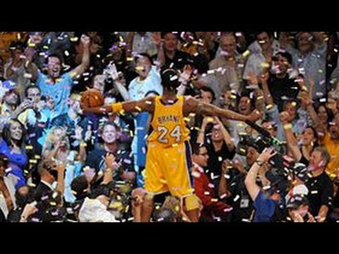 Kobe Bryant's Top 10 Plays of his Career