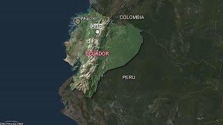 زلزال بقوة 7.8 درجات يضرب سواحل الإكوادور