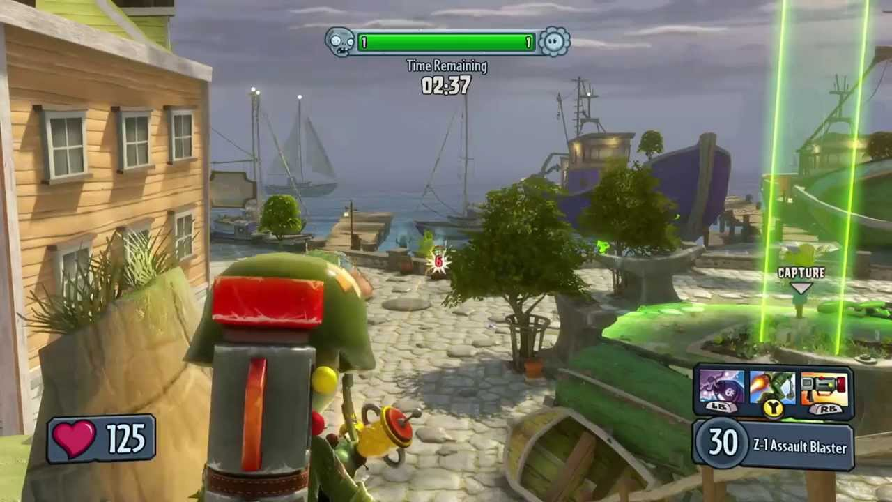 Plants Vs Zombies Garden Warfare Gardens Graveyards Gameplay And Commentary Youtube