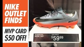 Nike outlet finds  - 59 mercurial vapor xi cr7 + more!
