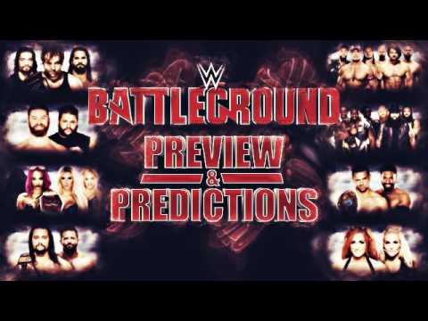 WWE Battleground 2016 :: Preview & Predictions