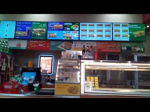 Где быстро поесть в Кудрово САБВЕЙ Кудрово / Subway Кудрово