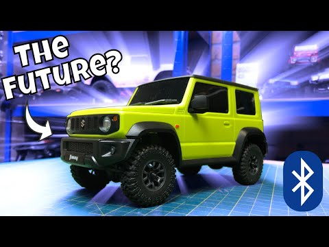 Are Smart RC Cars the future? I hope not! Xiaomi Bluetooth RC Suzuki Jimny Trail Truck