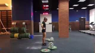 3d online CrossFit Games №268 Albu Alexandra WOD1 - 80 reps.mp4
