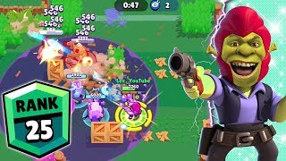 Colt Goes Shrek Mode | Another Rank 25 Brawler in Brawl Stars