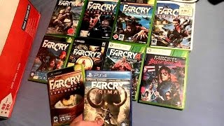 Far Cry Series Haul - Video Game Collection (2017)