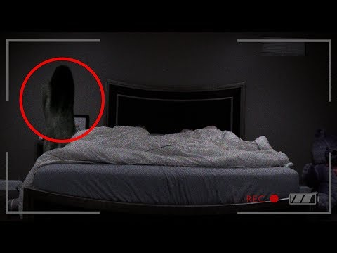 REAL GHOST CAUGHT ON CAMERA! (ACTUAL...