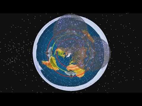 southern stars rotate over Flat Earth thumbnail