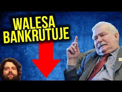 Lech Wałęsa Bankrutuje. Komornik w Fundacji. Ponad 400.000 DŁUGU. Gazeta Wyborcza wini PIS