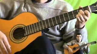 испанский бой - уроки игры на гитаре для начинающих 5 часть