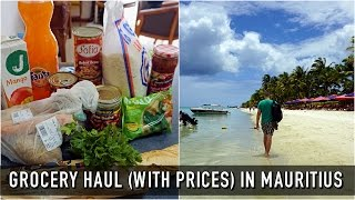MAURITIUS GROCERY HAUL (WITH PRICES) | Mauritius On A Budget #2