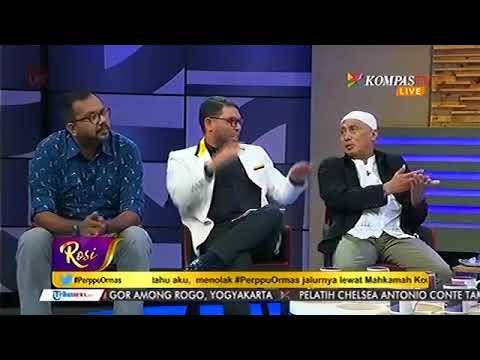 Prof MAHFUD MD PERMALUKAN PENDUKUNG HTI (ROSI KOMPAS TV)