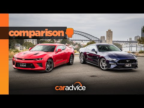 Camaro V Mustang: HSV's Chevy Takes On Ford's Pony Hero!