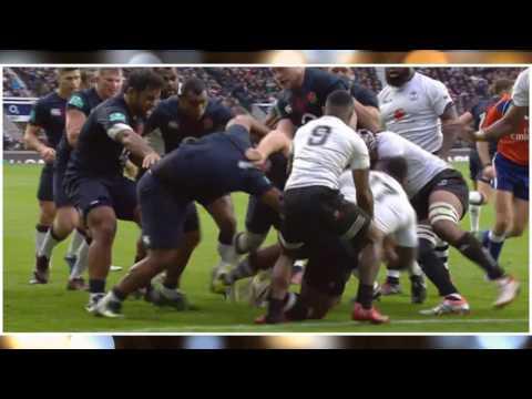England Vs Fiji   Rugby Union   Autumn Internationals   HD Highlights