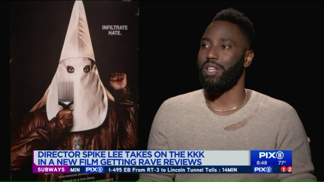 Interview with Spike Lee and cast of 'BlacKkKlansman'