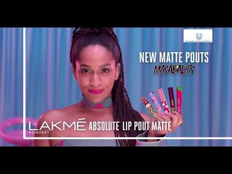 Lakmé Absolute Lip Pout Matte Masaba Lips- Hot Pink Queen and Bubble Pink