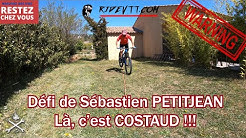 Un Défi VTT costaud de Sébastien PETITJEAN. Y a du level là par #ELPROFESSOR de vélo tout terrain