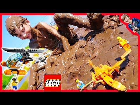 Lego City Coast Guard Chocolate Pudding Rescue! - Favorites