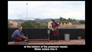 Montgolfier hydraulic ram